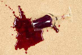 wine stain removal service adelaide