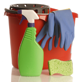 tile and grout cleaning materials